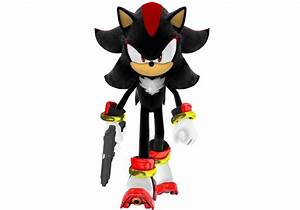Shadow the Hedgehog (with a gun)