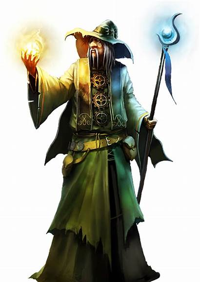 Wizard Transparent Clip Clipart Background Character Dnd