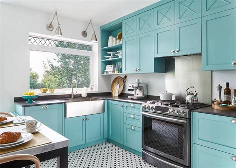 kitchen paint colors with blue countertops benjamin teal paint colors interiors by color 9505