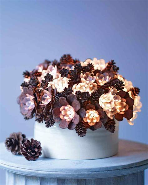 pine cone centerpieces christmas 40 creative pinecone crafts for your holiday decorations architecture design