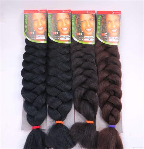Xpression Braiding Hair Color Chart