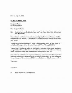 10 best images of demand letter breach of contract With free breach of contract letter template