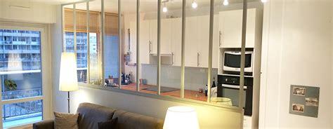 verriere cuisine salon votre verrière intérieure sur mesure verrière intérieure