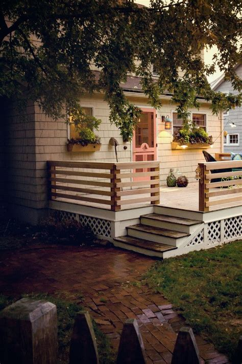 deck railings ideas  pinterest decks deck