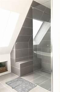 Duschvorhang Für Dachschräge : dusche endlich fertig in 2019 ideen dachschr gen und dachboden pinterest ~ Heinz-duthel.com Haus und Dekorationen