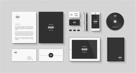 free simple resume templates 30 free psd branding identity mockups for designers and