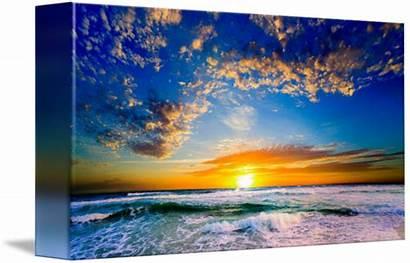 Sunset Orange Florida Imagekind Eszra Tanner Beaches