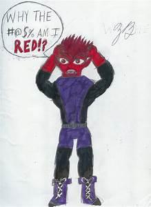 Beast Boy is red with rage by GoroKai on DeviantArt