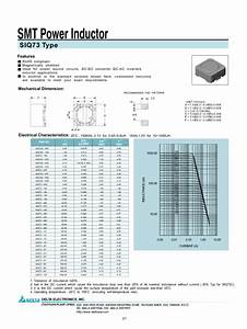 Smt Power Inductor Siq73 Manuals