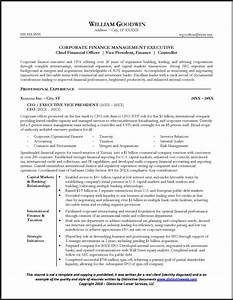 Sample cfo resume page 1 resume examples pinterest for Cfo resume template