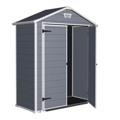Keter Manor Shed 5 X 6 Ft by Shop Keter Manor Gable Storage Shed Common 6 Ft X 3 Ft