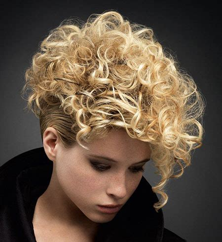 latest short curly hairstyles  fun style short