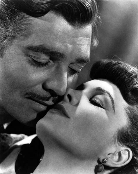 Clark Gable and Vivien Leigh in Gone with the Wind (1939