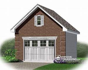 Cot De Construction D39un Garage Dtach Dessins Drummond