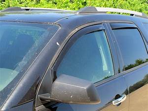 2009 Gmc Acadia Weathertech Side Window Air Deflectors