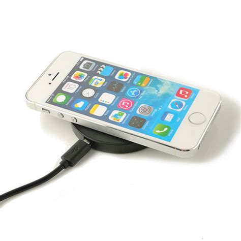 iphone pad charger portable qi wireless charger power battery charging pad