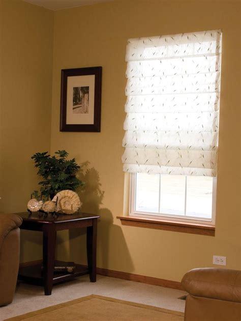 Custom Sheer Roman Shades  Window Treatments Design Ideas