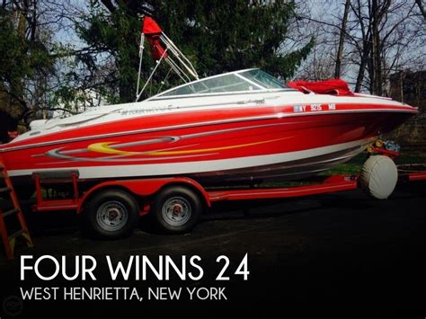Boats For Sale Henrietta Ny by 2005 Four Winns 24 Power Boat For Sale In W Henrietta Ny