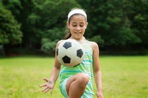 Girl Scouts Playing Games Sports