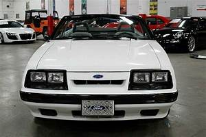 1986 Ford Mustang Gt 75656 Miles White 5 0l 302 V8 5