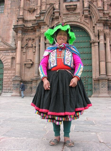 traditional of cusco peru south america culture to catwalk traditional