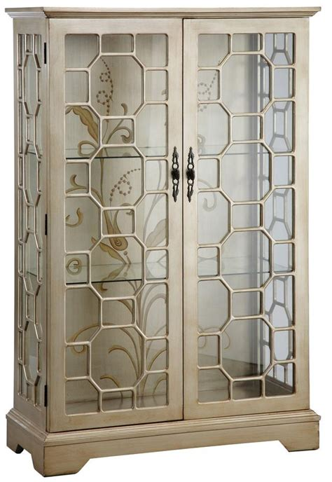 curio cabinets with glass doors curios curio cabinet w glass panel doors by stein world