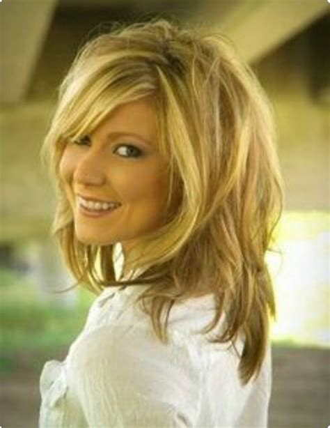 iconic short shag hair cut  mature women