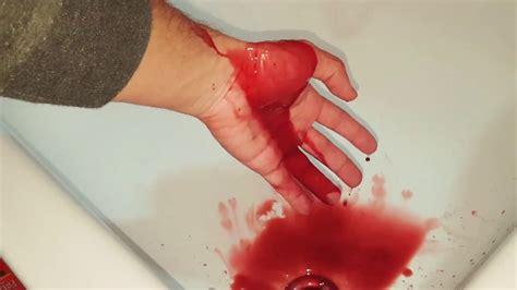 blut selber machen diy kunstblut blut selber machen blood diy