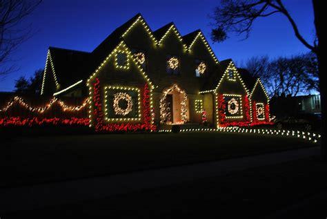 christmas tree lighting installed light installation services