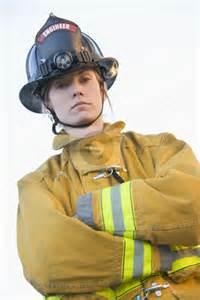 Female Firefighter Portrait