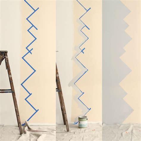 Wandgestaltung Mit Farbe Muster by Wandgestaltung Selber Machen Mit Farben Muster Streichen
