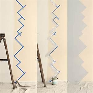 Wandgestaltung Selber Machen : wandgestaltung selber machen mit farben muster streichen ~ Lizthompson.info Haus und Dekorationen