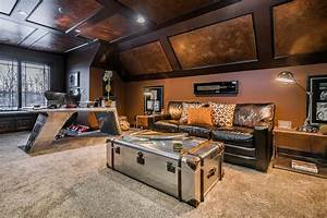 Ultimate Man Cave Eclectic Home Office Columbus By