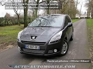 Essai 5008 : essai peugeot 5008 premium hdi 110 bmp6 actu automobile ~ Gottalentnigeria.com Avis de Voitures