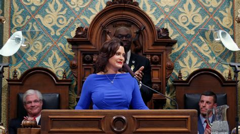 Gov. Gretchen Whitmer schedules second State of the State ...