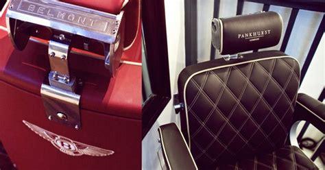 siege de salon des fauteuils bentley pour un barbier de luxe
