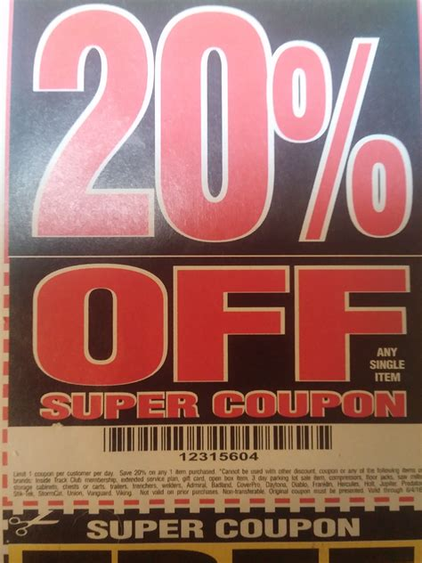 harbor freight magnifying l harbor freight tools coupon database free coupons 25