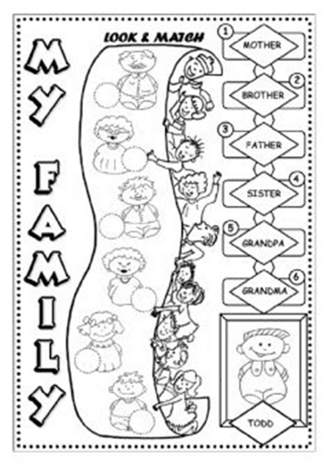 family interactive worksheets
