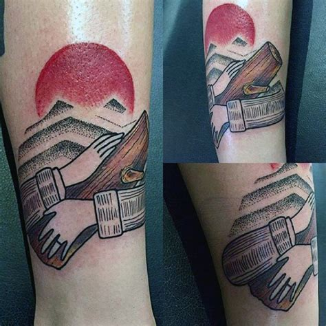 twin peaks tattoo designs  men tv ink ideas