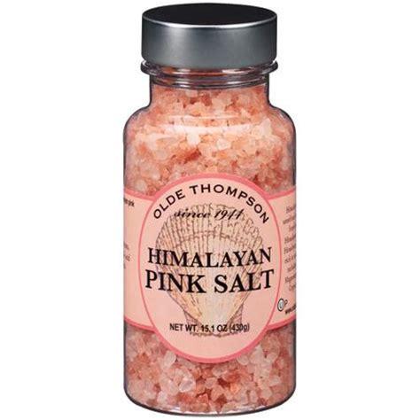 himalayan salt l walmart olde thompson himalayan pink salt 15 1 oz walmart