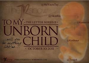 letter to my unborn child 4 the jr show With letters to my unborn child book