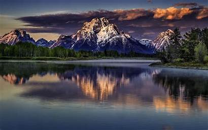 Grand Teton Wyoming Wallpapers Stormy National Park
