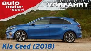 Kia Ceed Sport : kia ceed 2018 warum eigentlich noch golf vorfahrt review auto motor und sport youtube ~ Maxctalentgroup.com Avis de Voitures