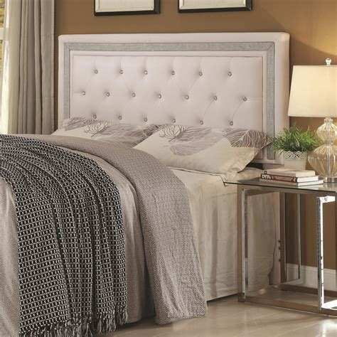 Did Headboard by Coaster Andenne Bedroom Glamorous King California King