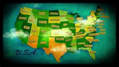 Map States United Usa America State Maps