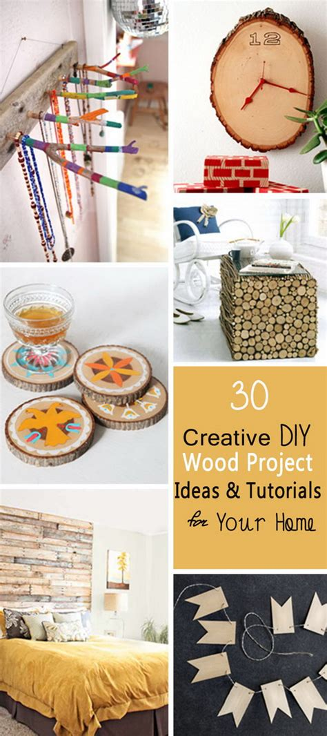 creative diy wood project ideas tutorials