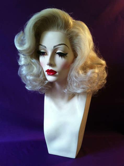 Drag Queen Showgirl Marilyn Monroe Inspired Wig!!!