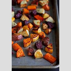 Roasted Root Vegetables Recipe With Rosemary  Cookin Canuck