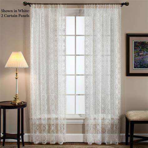 window treatments richmond macrame lace window treatment