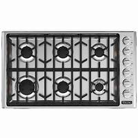 gas cooktop 36 inch Viking VGCC5366BSS Professional Custom Series 36 Inch Gas ...